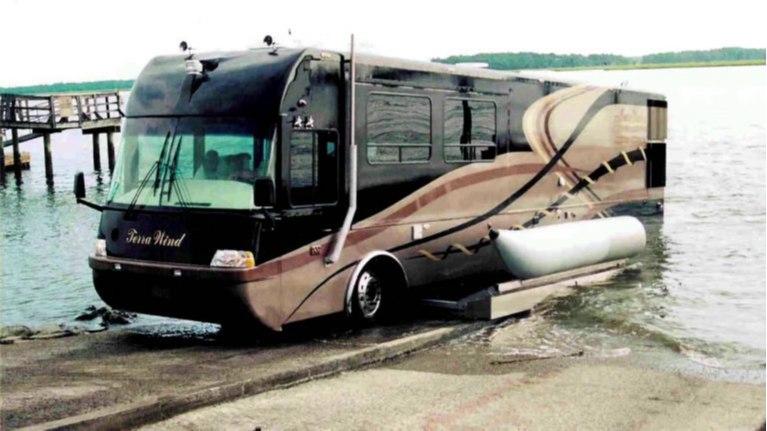 تِرا ویند RV، یک خودروی تفریحی اما دو زیست