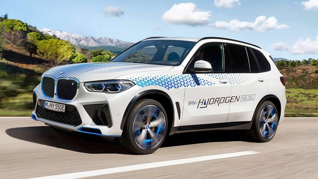 بامو iX5 هیدروژن در رویداد خودرویی مونیخ نمایان شد