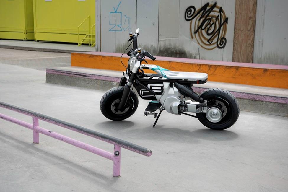 آشنایی با موتورسیکلت مفهومی بامو CE 02
