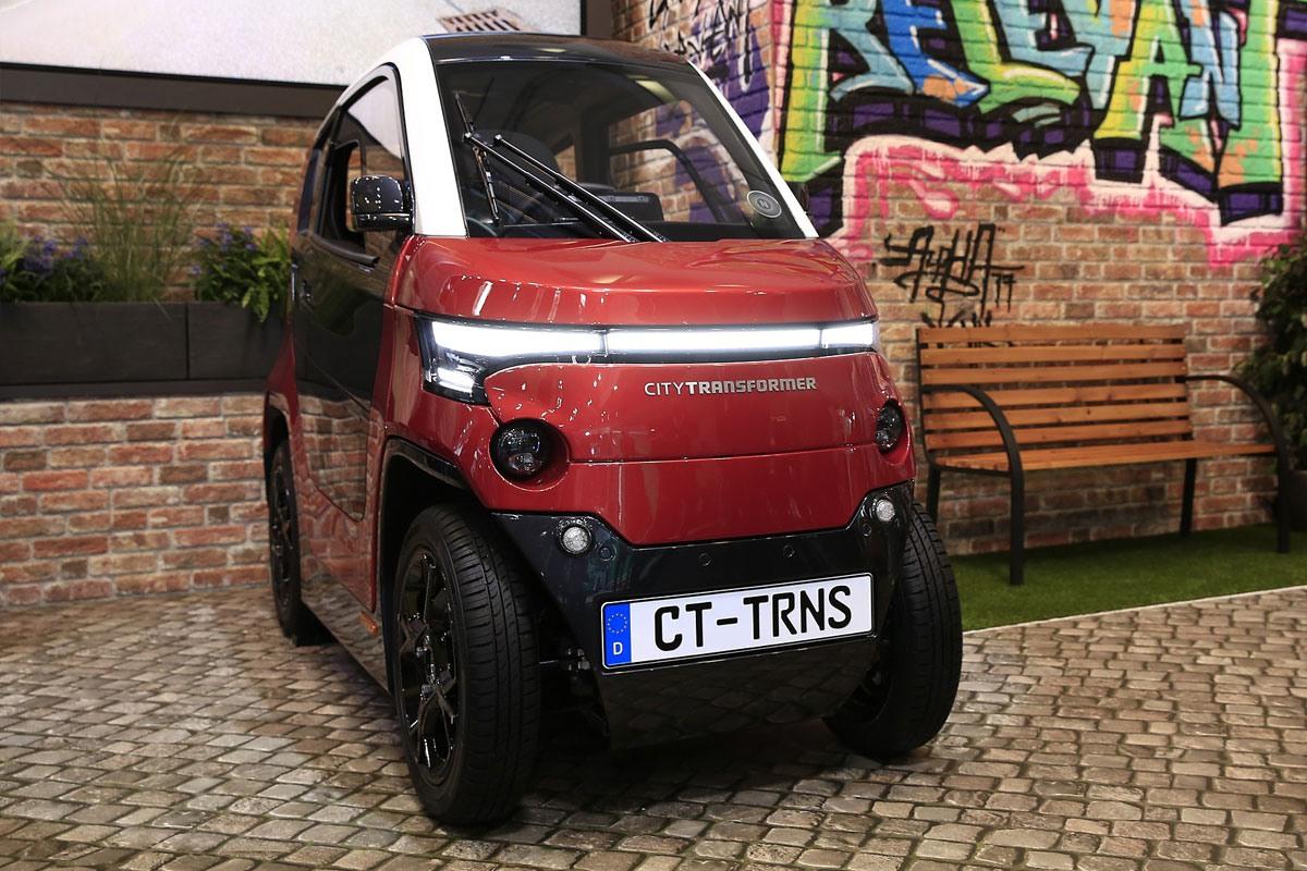 سیتی ترنسفورمر، خودروی الکتریکی کوچکی با عرض متغیر!
