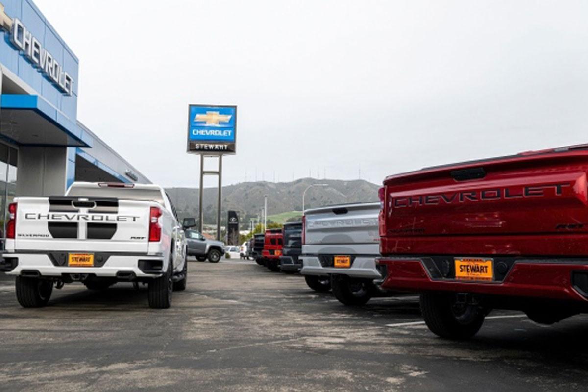 کاهش فروش چشمگیر خودرو در ایالاتمتحده به خاطر بحران کمبود چیپ