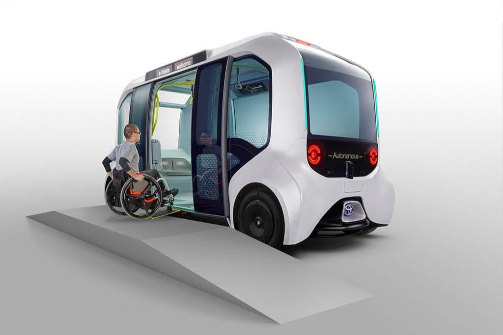 استفاده از خودروی خودران تویوتا در مسابقات پارالمپیک متوقف شد